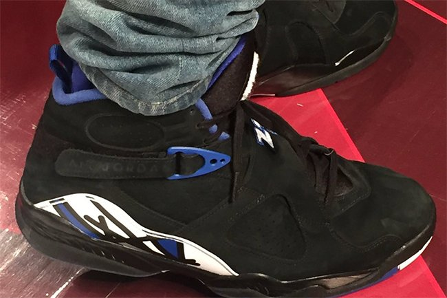e9c804fd7060d7 Drake Air Jordan 8 OVO Kentucky Blue Black