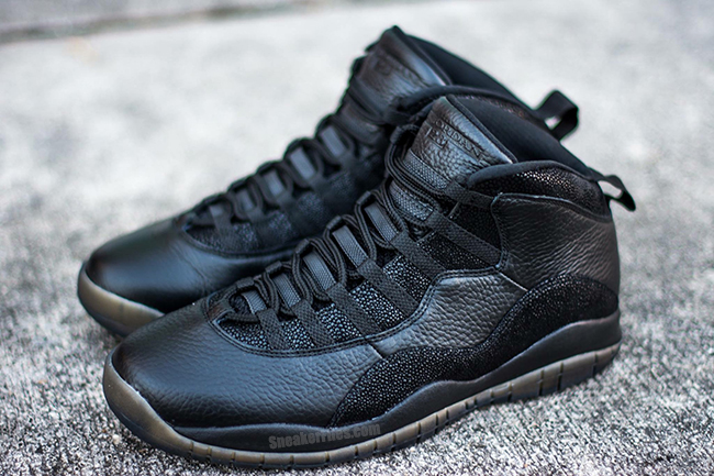 Drake OVO Air Jordan 10 Black