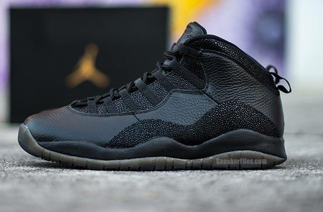 Drake OVO Air Jordan 10 Black