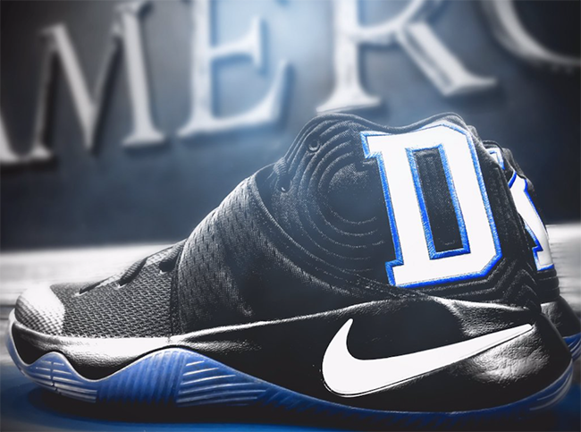 Duke Nike Kyrie 2 Black