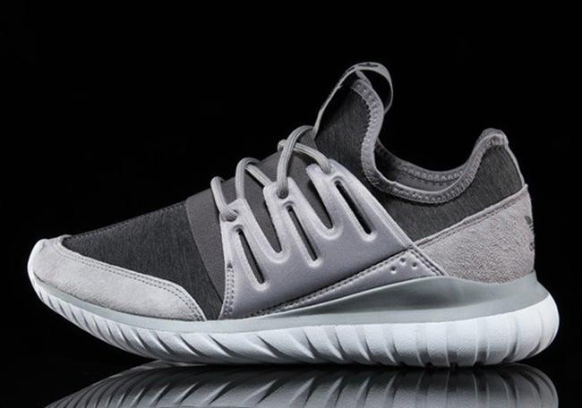 Fleece Grey adidas Tubular Radial