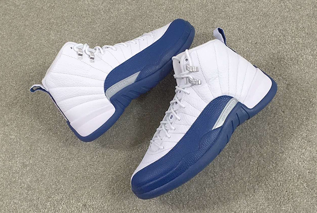 French Blue Air Jordan 12 March 2016