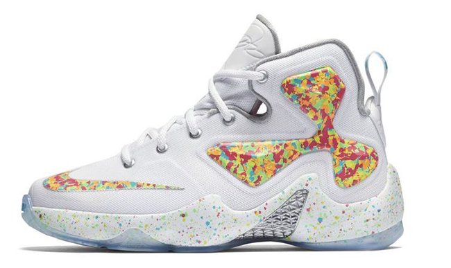 f0254c4d12861 well-wreapped The Nike LeBron 13 Fruity Pebbles Debuts Tomorrow ...