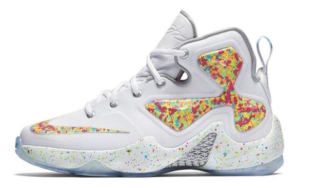 reputable site 9080e 8e75a well-wreapped The Nike LeBron 13 Fruity Pebbles Debuts Tomorrow