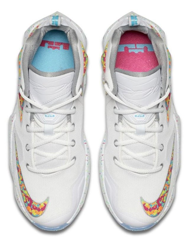 51a65522f9d7 Nike LeBron 13 GS Fruity Pebbles