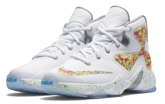 Fruity Pebbles Nike LeBron 13