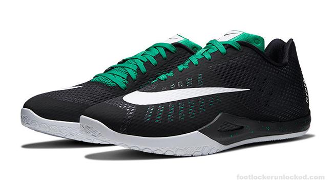 Isaiah Thomas Nike HyperLive Black Green PE