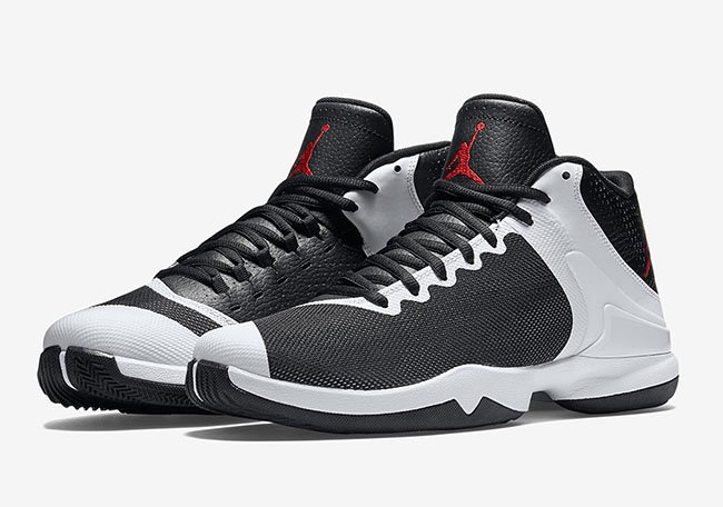 Jordan Super Fly 4 PO Black White Infrared Red