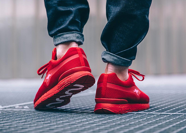 KangaROOS Coil-R1 Woven Flame Red