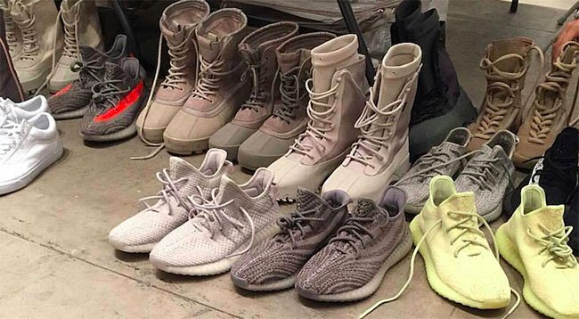 Kanye West adidas Yeezy Season 3 Footwear