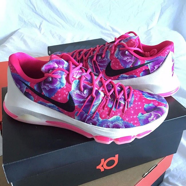 KD 8 Aunt Pearl Pink