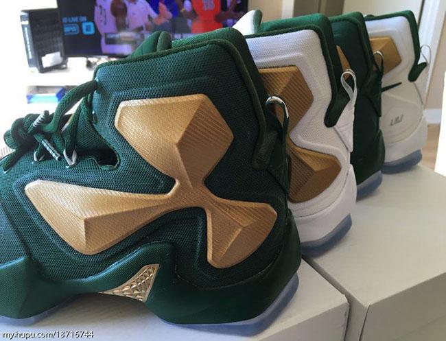 on sale ea99a 6bbc7 Nike LeBron 13 SVSM PE Home Away