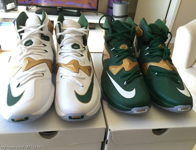 Nike LeBron 13 SVSM PE Home Away