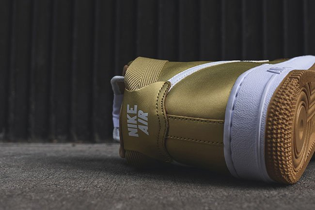 Metallic Gold Nike Air Force 1 High