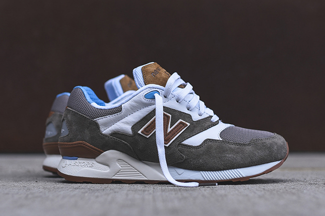 New Balance ML878 Athleisure Grey White Brown