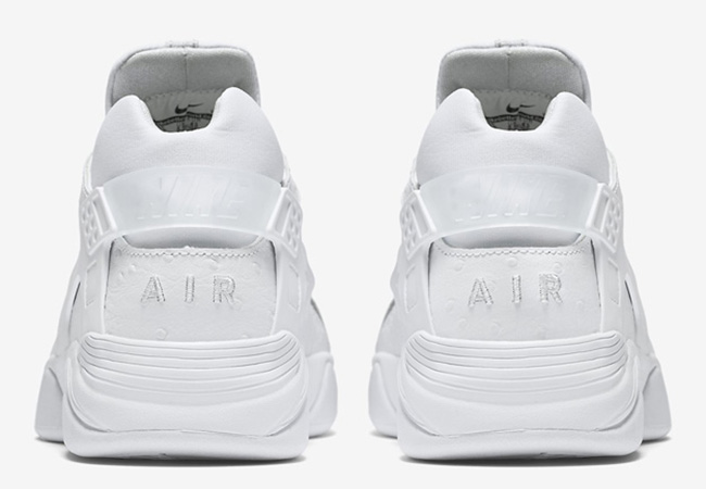 Nike Air Flight Huarache Low White Ostrich
