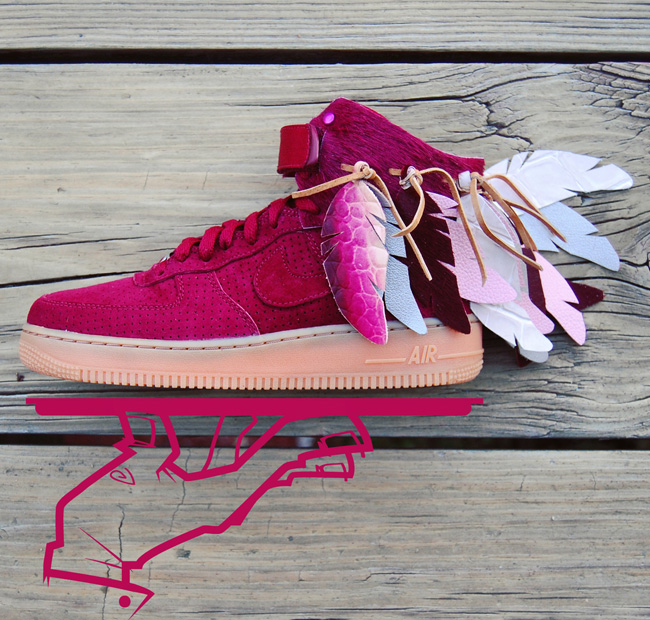 save off dcc8e 7d69d ... Custom Nike Air Force 1 . ...