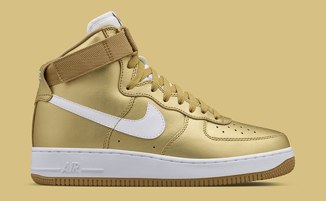 Nike Air Force 1 High Metallic Gold