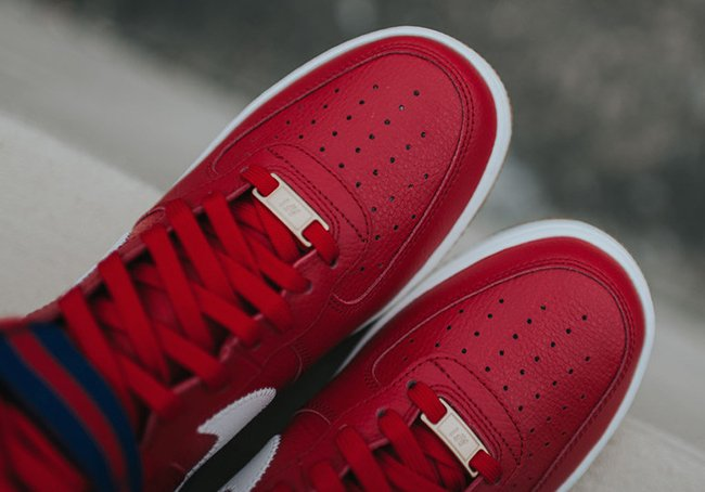 Nike Air Force 1 High Red Gum