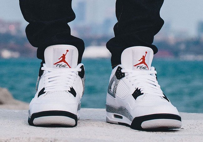 Nike Air Jordan 4 White Cement 2016 Retro