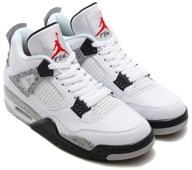 latest discount best online buy best Air Jordan 4 Retro 89 Nike Air White Cement 2016 | SneakerFiles