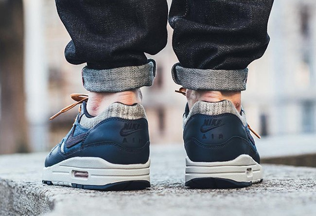 Nike Air Max 1 Premium Midnight Navy