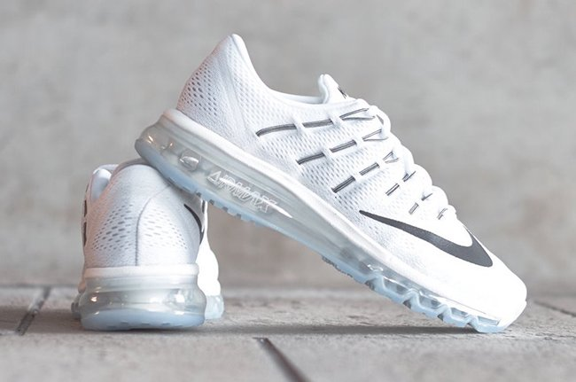reputable site 283d2 0158c Nike Air Max 2016 White Ice
