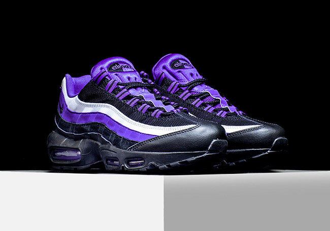 on sale 1130b 5a8c7 Nike Air Max 95 Persian Violet 80%OFF