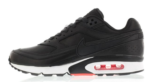 outlet store f4bc9 ab924 best Nike Air Max BW Premium Black Leather
