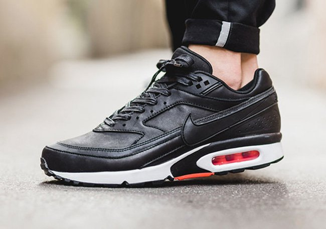 Nike Air Max BW Premium Black Leather | SneakerFiles