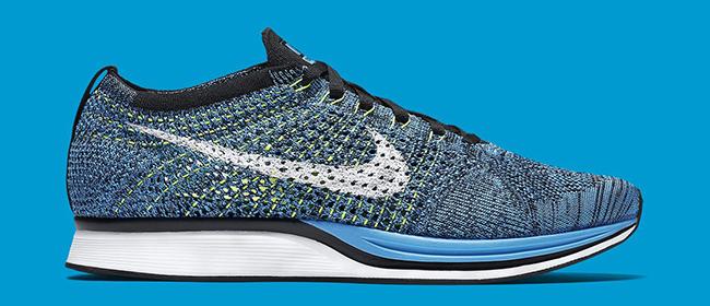 Nike Flyknit Racer Blue Glow