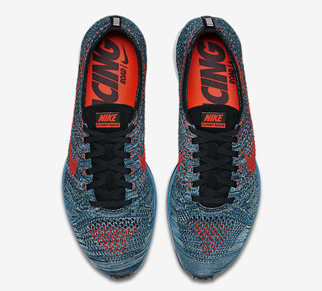 a14b19e83075c Nike Flyknit Racer Neo Turquoise