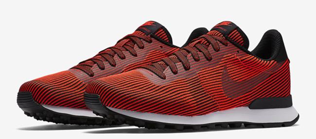 Nike Internationalist KJCRD Black Bright Crimson