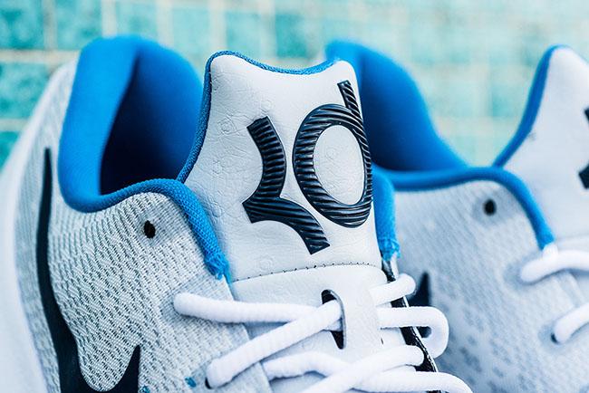 Nike KD 8 White Midnight Navy Photo Blue