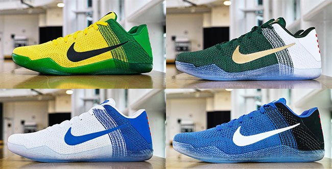 los angeles 3a183 01419 Nike Kobe 11 March Madness Michigan State Oregon Kentucky Duke