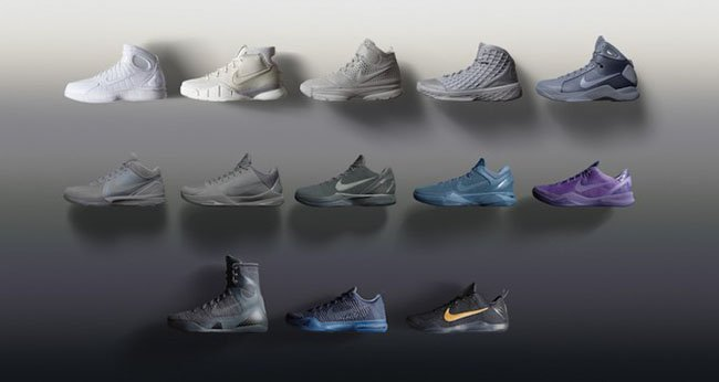 Nike Kobe Fade to Black Pack