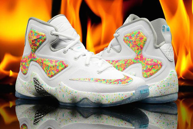 Nike LeBron 13 Cereal Fruity Pebbles