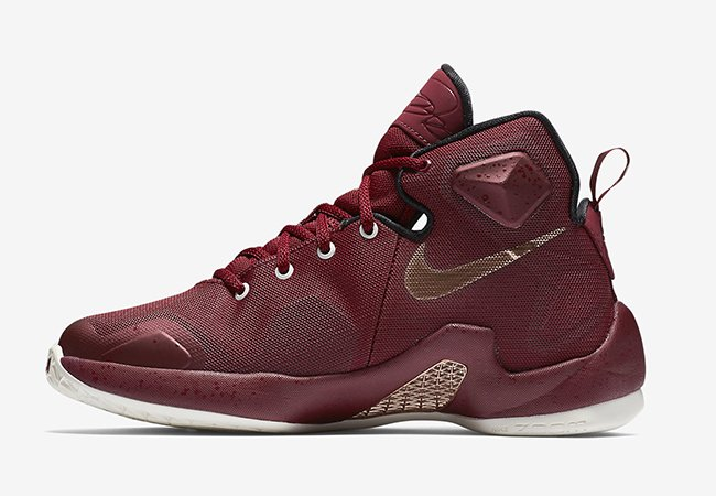 Nike LeBron 13 GS Team Red Metallic Red Bronze