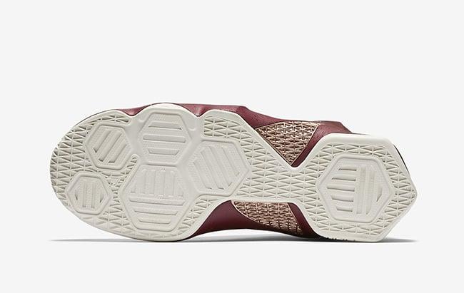 ce560091f1f7 Nike LeBron 13 GS Team Red Metallic Red Bronze