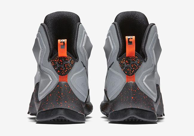 Nike LeBron 13 Lava Silver Energy