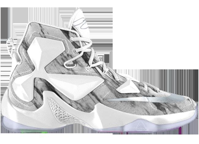 Nike LeBron 13 Marble