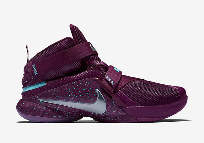 Nike LeBron Soldier 9 FlyEase Mulberry