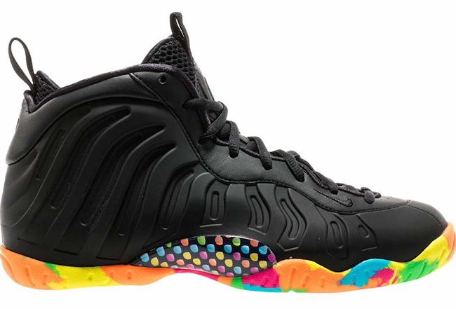 Nike Little Posite One Black Fruity Pebbles Release