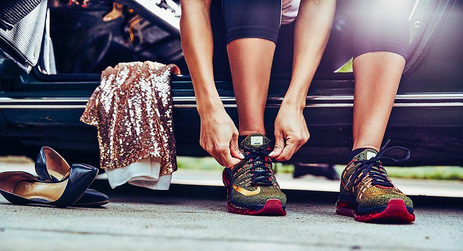 5bf945f148 Nike Red Carpet Runner Collection new · Nike WMNS Air Zoom Elite 8 RCR  Colorway: Black/Atomic Pink-Vivid Orange-Metallic Gold