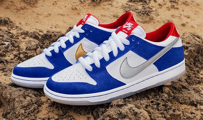 sports shoes 01f9c 0e763 Ishod Wair Nike SB Dunk Low BMW | SneakerFiles