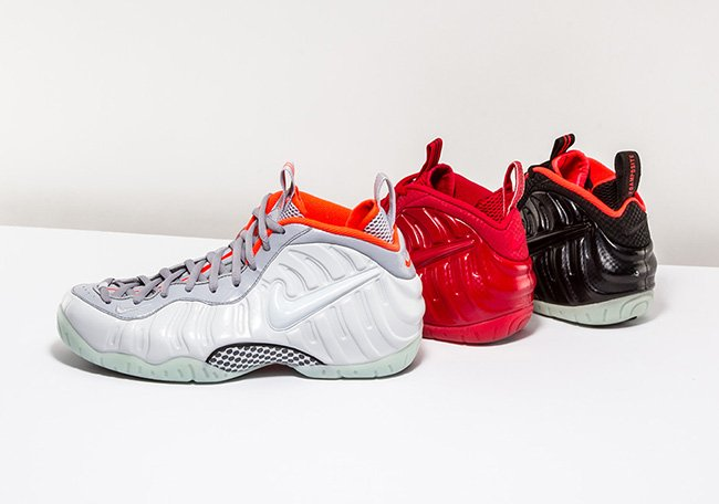 Nike Yeezy Foamposite Platinum Red October Solar Red