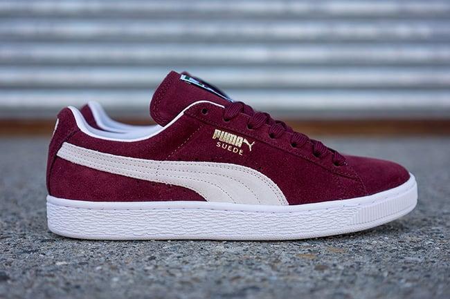 Puma Suede Classic Cabernet Red
