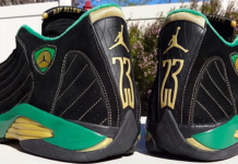 Ray Allen Air Jordan 14 2561 Celtics PE