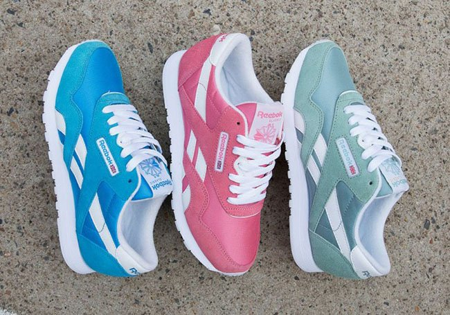 Melódico Moda Incomparable  Reebok Classic Nylon Summer Pastel Pack | SneakerFiles