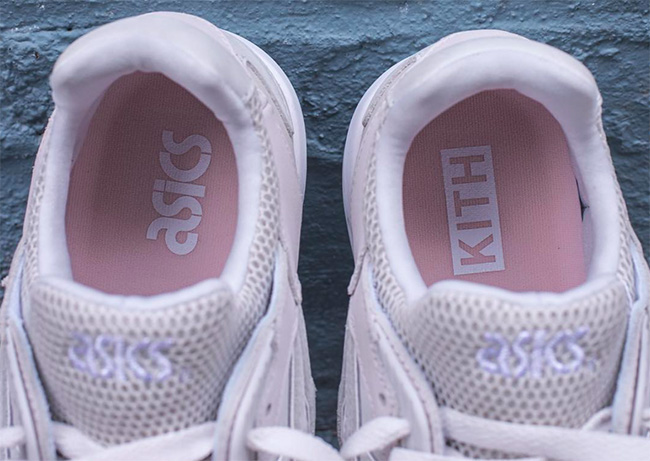 asics beige pink